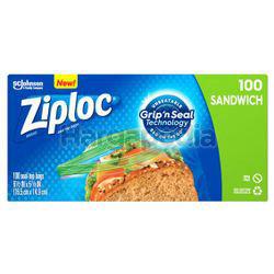 Ziploc Sandwich Bag 100s