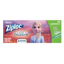 Ziploc Disney Frozen Sandwich Bag 66s