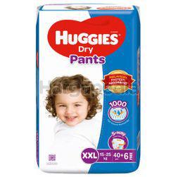Huggies Dry Pants Mega Pack XXL40+6