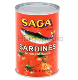 Saga Sardine in Tomato Sauce 400gm