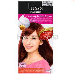 Liese Blaune Creamy Foam Color 2R Mahogany Red 1set