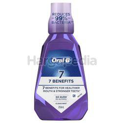 Oral-B 7 Benefit Mouth Rinse 250ml