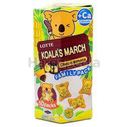 Koala's March Family Pack Choco Banana 195gm