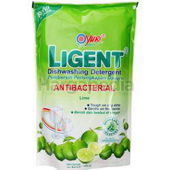 Yuri Ligent Dishwashing Lime Refill 630ml