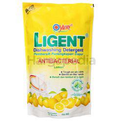 Yuri Ligent Dishwashing Lemon Refill 630ml