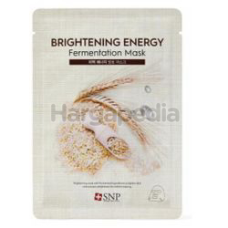 SNP Brightening Energy Fermentation Mask 1s