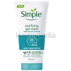 Simple Daily Skin Detox Purifying Facial Wash 150ml