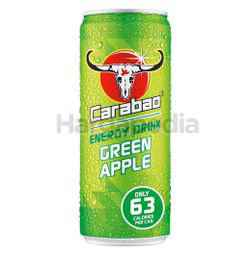 Carabao Carbonated Energy Drink Green Apple 180ml