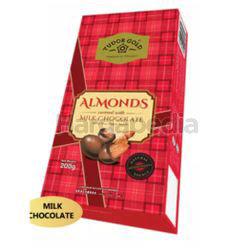 Tudor Gold Box Almond Milk Chocolate 200gm