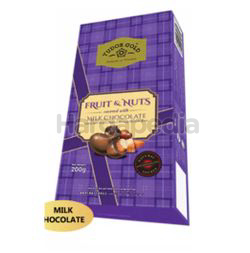Tudor Gold Box Fruit & Nuts Milk Chocolate 200gm