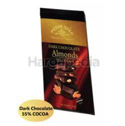 Tudor Gold Bar Dark Almonds Chocolate 200gm