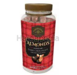 Tudor Gold Canister Almond Dark Chocolate 400gm