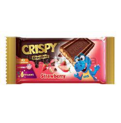 Crispy Strawberry Chocolate Bar 35gm