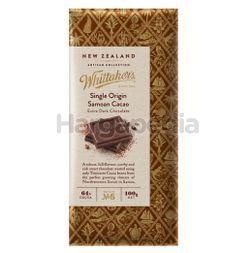 Whittaker's Single Origin Samoan Cacao 100gm