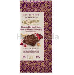 Whittaker's Doris Plum & Roasted Almond Chocolate 100gm