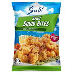 Subi Spicy Squid Bites 400gm