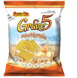 Snek Ku Grain 5 Snacks Potato 70gm