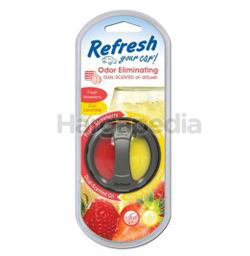 Refresh Your Car Dual Diffuser Fresh Strawberry  & Cool Lemonade 1s