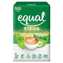 Equal Stevia Sweetener Sticks 100s