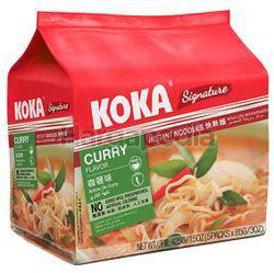 Koka Signature Instant Noodle Curry 5x85gm
