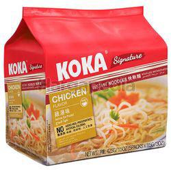 Koka Signature Instant Noodle Chicken 5x85gm