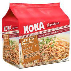 Koka Signature Instant Noodle Stir Fry Original 5x85gm