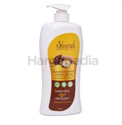 Shurah Body Wash Minyak Argan 1lit