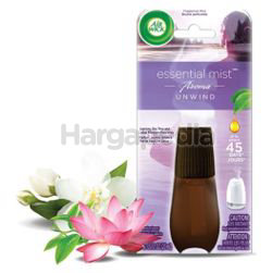 Air Wick Fragrance Mist Diffuse Aroma Unwind Refill 1s
