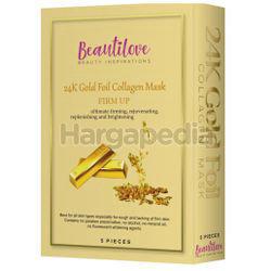 Beautilove 24k Gold Foil Mask Collagen 5s