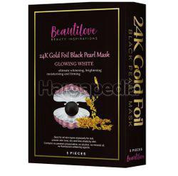 Beautilove 24k Gold Foil Mask Black Pearl 5s