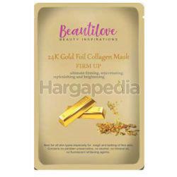 Beautilove 24k Gold Foil Mask Collagen 1s