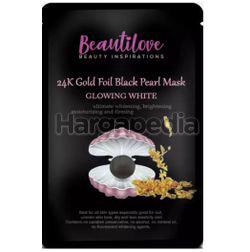 Beautilove 24k Gold Foil Mask Black Pearl 1s