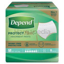 Depend Protect Plus Pants Adult Diaper M9