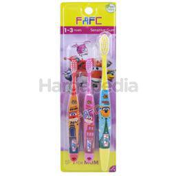 FAFC Superwings Shrink Sleeve Mom & Kids Toothbrush 1-3 years 3s