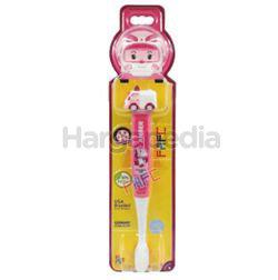 FAFC Kids Toothbrush Robocar Poli Amber Figurin 1s