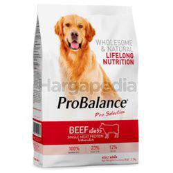 Pro Balance Dry Dog Food Beef 3.2kg