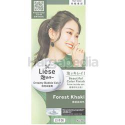 Liese Creamy Bubble Hair Color Forest Khaki 1set