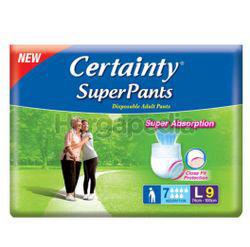 Certainty Superpants L9