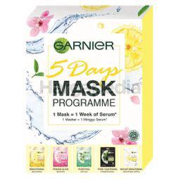 Garnier 5 Days Multi Variant Mask Pack 5s