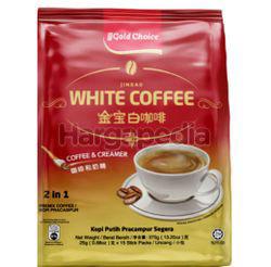 Gold Choice Jin Bao White Coffee 2in1 15x25gm