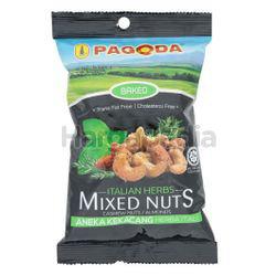 Pagoda Baked Italian Herb Mixed Nuts  90gm