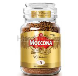 Moccona Classic Medium Roast Freeze Dried 5 Coffee 100gm