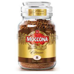 Moccona Classic Dark Roast Freeze Dried 8 Coffee 100gm