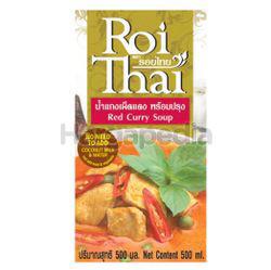 Roi Thai Soup Red Curry 500ml