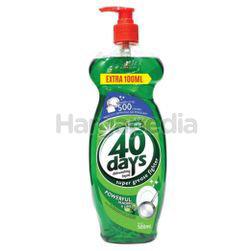 AFY Haniff 40 Days Dishwash Liquid Pandan & Lime 500ml