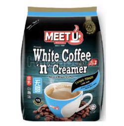 Meet U 2in1 White Coffee 'n' Creamer 15x25gm