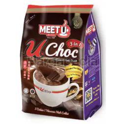 Meet U U Choc Chocolate Malt Drink 18x33gm