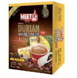 Meet U Durian White Coffee 4 in 1 10x30gm