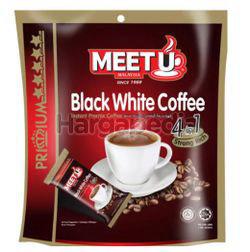 Meet U Premium Gold Black White Coffee 4 in 1 10x20gm