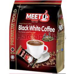 Meet U Premium Gold Black White Coffee 4 in 1 20x20gm